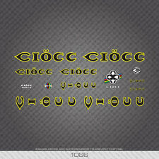 01066 Ciocc Bicycle Stickers - Decals - Transfers