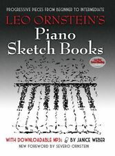 Leo Ornstein's Piano Sketch Books Learn to Play BEGINNER EASY Music Book MP3