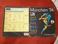 PANINI ALBUM MUNICH MUNCHEN 74  WORLD CUP  FULL COMPLET 100 % 1974 ORIGINAL