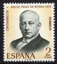 SPAIN MNH 1970 SG2034 100th Anniversary of the Birth of Miguel Primo de Rivera