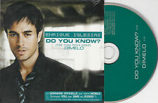 CD CARTONNE ENRIQUE IGLESIAS 2T DO YOU KNOW ? NEUF FRENCH STICK