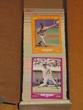 1988 Score  BASEBAL LARGE LOT APPROXIMATELY 425 CARDS