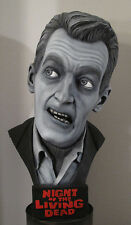 Night of The Living Dead bust 1:1 scale zombie head prop mask sideshow walking