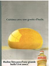 Publicité Advertising 1979 Huile d'Arachide Huilor