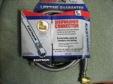 EASTMAN dishwasher connector 5 foot, fits all models new in package
