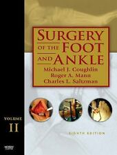 Surgery of the Foot and Ankle Set by Charles L. Saltzman, Roger A. Mann and Mic…