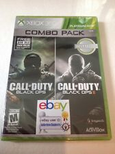 NEW Call of Duty: Black Ops 1 & 2 I II Combo Pack Xbox 360 w/ $15 DLC Map Pack