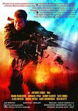 SHOOTER Movie POSTER 27x40 E Mark Wahlberg Michael Pe a Danny Glover Kate Mara