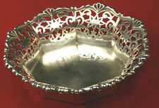 "Bruckmann & Sohne Germany 800 Silver 5.5"" Pierced Reticulated Bowl 112 Gms"
