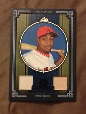 2005 Donruss Diamond Kings Chone Figgins DUAL GAME-USED JERSEY BAT Card /50!!!!