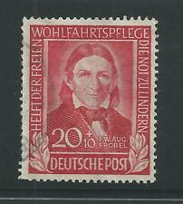 WEST GERMANY # B312 Used F.W.A. FROEBEL