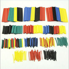 328 Pcs 8 Sizes Assorted 2:1 Heat Shrink Tube Sleeving  Cable 5 Colors Kit Set