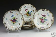 """Seven Rosenthal Porcelain Hand Painted 6"""" Bread Plate Plates"""
