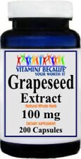 Grapeseed Extract 100mg Maintain Antioxidant Health 200 Capsules