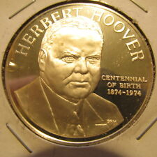 1974 Hoover Institution on War Stanford, CA Sterling 92.5% Silver Medal Coin