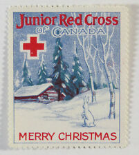 Poster Stamp Cinderella - Junior Red Cross of Canada 1926, Merry Christmas