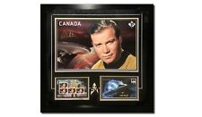 Star Trek Canada Post First Day Issue Stamp Set Signed by William Shatner