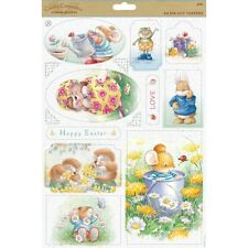 Country Companions Sunshine Meadows A4 Die-Cut Topper Sheet BEST WISHES Craft
