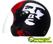 Che Guevara Tortugaz™ Motorcycle 3/4 Open Face Helmet COVER Protector