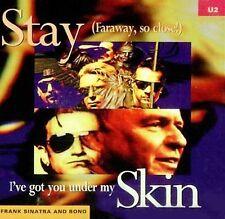 Stay (Faraway, So Close) [Maxi Single] by U2 & Frank Sinatra (CD, 1993, Island)
