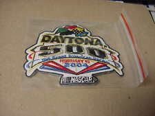 Daytona 500 February 15, 2004 embroidered event Patch  (Dale Jr. win)