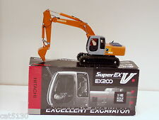 Hitachi EX200 Excavator - 1/40 - Shinsei - Japan - N.MIB