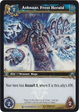 WORLD OF WARCRAFT WOW TCG PROMO FOIL : ASHNAAR, FROST HERALD TOURNAMENT FOIL