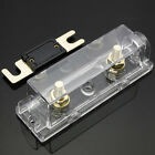 Gold Plated Fuse Holder Box & Free ANL Fuse 250Amps 0 Gauge Cable Inline Vehicle