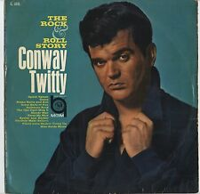 Conway Twitty - The Rock And Roll Story JAPAN LP with INNER SLEEVE