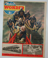 "Modern Wonder Magazine Vol 5 no 111 July 1 1939 - Cunliffe-Owen ""Flying Wing"""