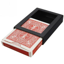 Vanishing Card Case Disappearing Poker Case Close Up Magic Trick Box Props