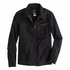 NEW J. Crew Wallace & Barnes Blanket Lined Work Jacket Coat Men's XS Deep Navy