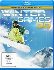 Winter Games 3D (inkl. 2D Version) - BluRay - Neu / OVP