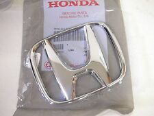New Genuine 09-11 Honda Civic Sedan 4D Front Chrome H Emblem Grille EX LX Si