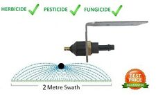 2M Spray Boomless Nozzle Kit - Weed Spray Flat Jet Boom Sprayer - Broadcast