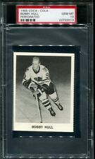 1965 Coca-Cola Bobby Hull (HOF) Perforated PSA 10 GEM MINT,   Ultra Rare,  POP 2