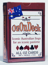 All Oz Cards presents Aussie Lingo Playing Cards - OzOnDeck! Card Games