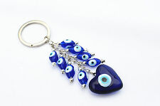 Blue Evil Eye Keychain key ring Hanging Amulet For Protection
