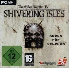 The Elder Scrolls IV Shivering Isles-PC DVD-ROM-nuevo