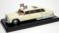 True Scale 1/43 1975 Mercedes 600 Pullman King Hussein of Jordan 144341
