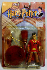 HARRY POTTER QUIDDITCH HARRY KO 5'' ACTION FIGURE SET w/ SUCTION CUP MOSC SEALED