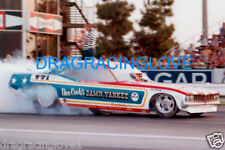 "Ron O'Donnell ""Damn Yankee"" 1971 Plymouth 'Cuda NITRO Funny Car PHOTO!"