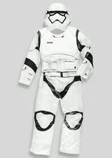 BNWT Boys Disney Star Wars storm trooper padded Boys Fancy Dress  Costume 7-8 yr