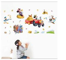 Disney mickey & minnie mouse farm Removable Wall Stickers Decal Kids Home Decor