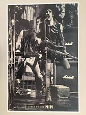 NINE INCH NAILS,CLOSER TO GOD,AUTHENTIC 1995 PROMO POSTER