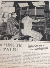 Ephemera 1933 Article International Operators London Switchboard M5015
