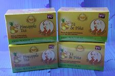4 Box Dr MIng Pineapple Tea (120 Bags) Dr Ming Chinese Weight Loss Te de Pina