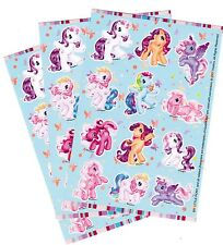 3 Sheets MY LITTLE PONY Gorgeous Rainbow Dash Scrapbook Stickers