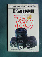 Hove Canon T60 User's Guide by John Hannavy New