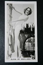Glamorous Movie Star  Olivia de Havilland   Vintage Photo Card  VGC